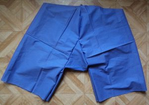 Experimental shorts pinned together