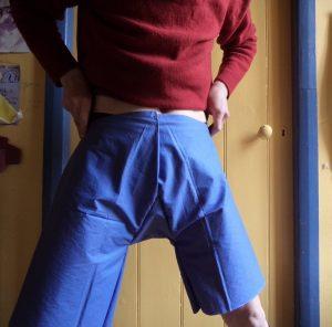 Experimental shorts modelled