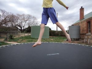 The experimental shorts The crushing verdict on the trampoline 6