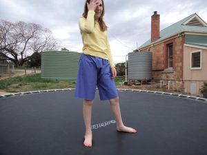 The experimental shorts The crushing verdict on the trampoline 7