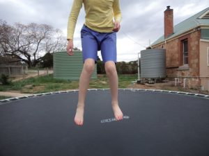 The experimental shorts The crushing verdict on the trampoline 8