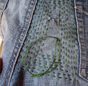 more visible mending