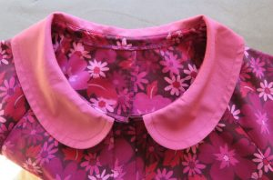 Built by Wendy FINALLY Sewn by Lizzy neckline of dress
