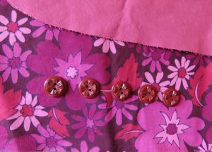 Built by Wendy FINALLY Sewn by Lizzy vintage buttons l