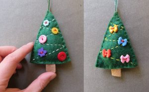 Free Pattern Crafting Christmas deccys Trees