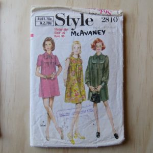 A lifetime of sewing patterns 1960s maternity 1