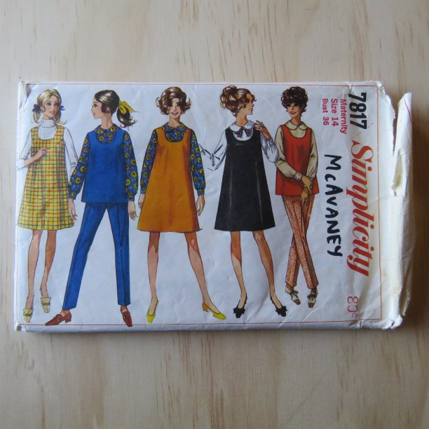 A lifetime of sewing patterns 1960s maternity 2