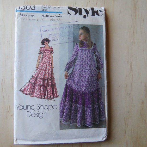 A lifetime of sewing patterns 1970s ladies 3