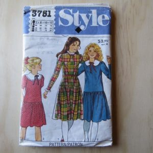 A lifetime of sewing patterns 1980s children 1