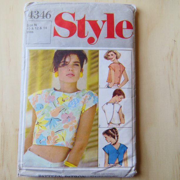A lifetime of sewing patterns 1980s ladies 2