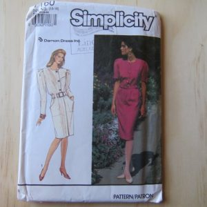 A lifetime of sewing patterns 1980s ladies 3