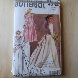 A lifetime of sewing patterns 1980s prom dresses 1