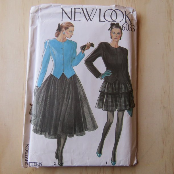 A lifetime of sewing patterns 1990s ladies 1 New Look
