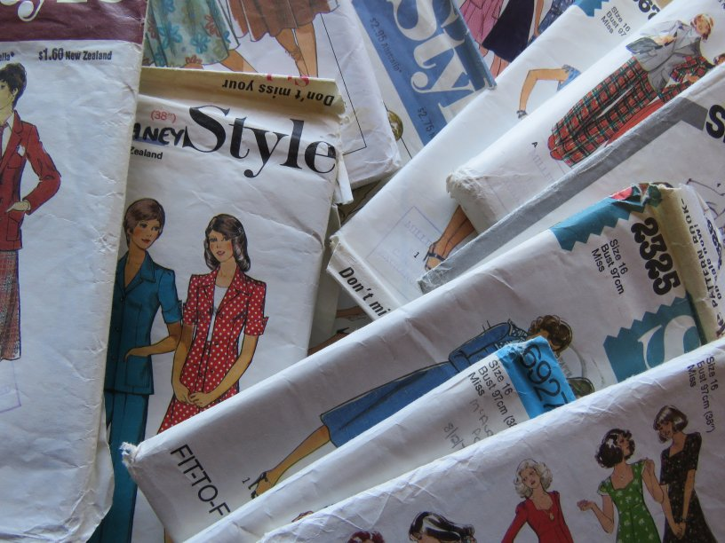 A lifetime of sewing patterns
