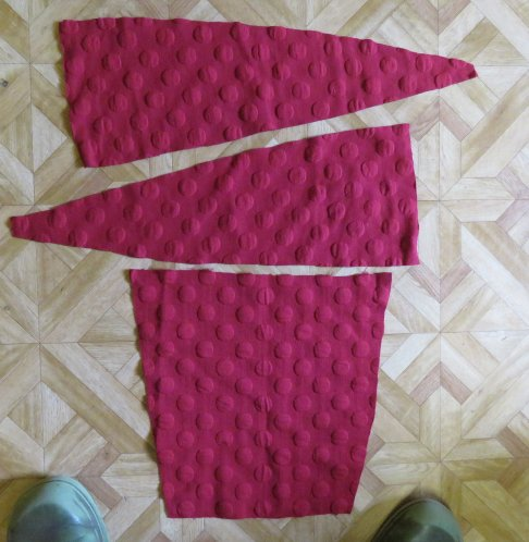 Conclusion of the hug me tight experiment maroon cardi sleeves 1