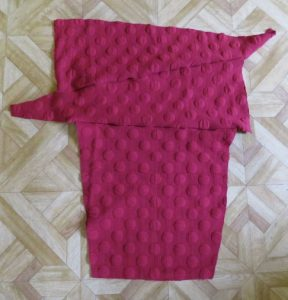 Conclusion of the hug me tight experiment maroon cardi sleeves 2