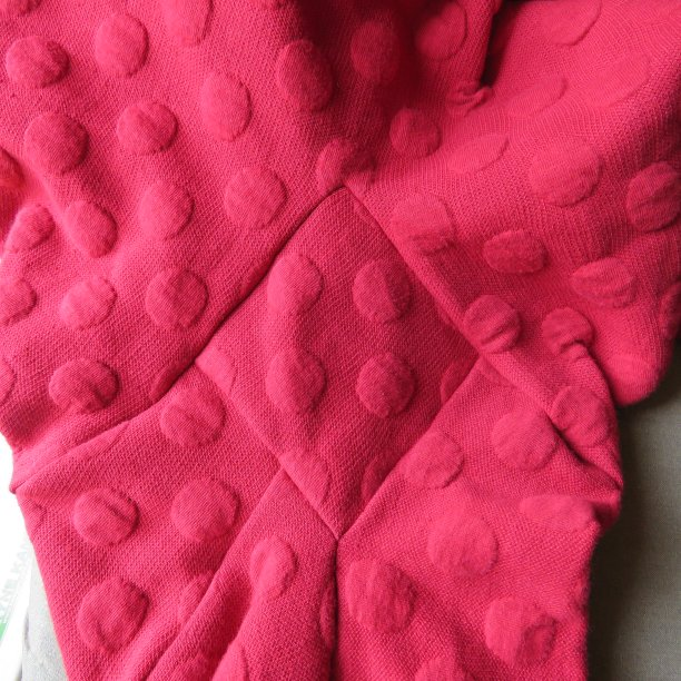 Conclusion of the hug me tight experiment maroon cardi sleeves 7