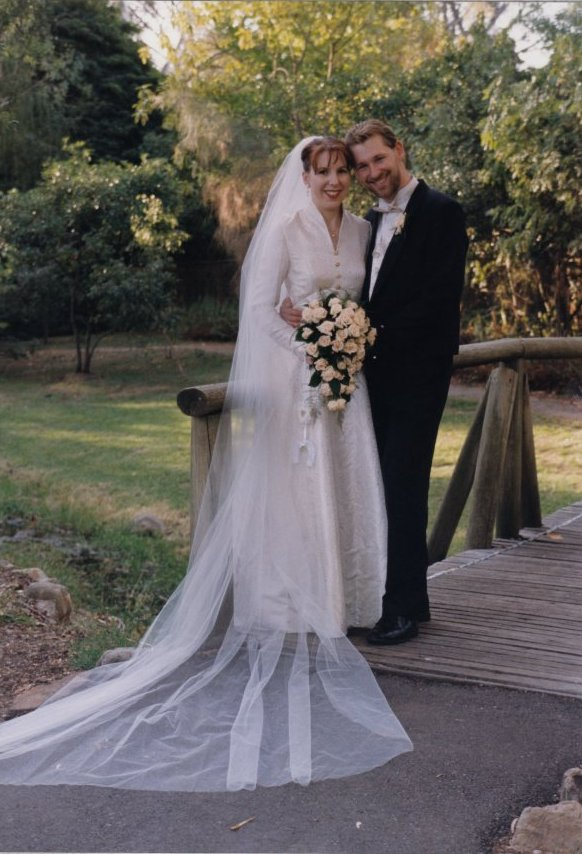 It was 20 years ago today the smiling couple