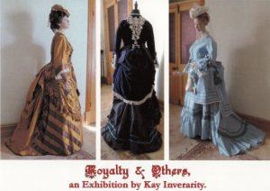 Kay Invararitys costume exhibition postcard 1