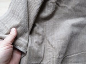Me Made May 2019 musings taupe corduroy