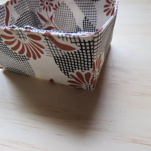 Pattern recommendation Stitched Sewing Organizers fabric box corner