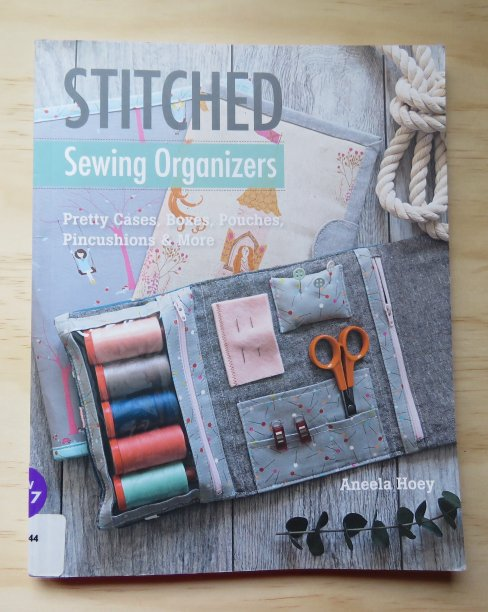 Stitched Sewing Organizers book