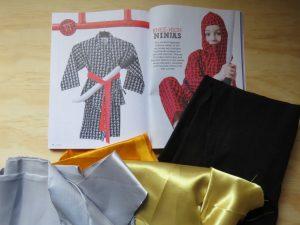 Book week costumes Ninja outfit in Homespun mag