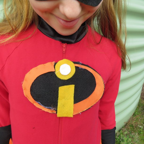 Ninja vs Incredibles book week costumes expert hot glue gunning