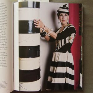 Art of Dressing black and white stripes