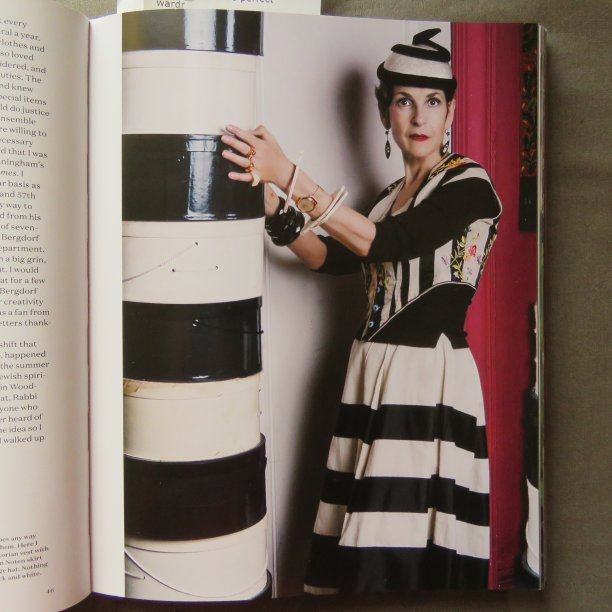 Art of Dressing black and white stripes