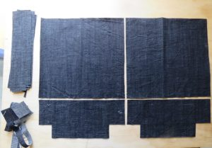 afternoon handbag challenge denim fabric
