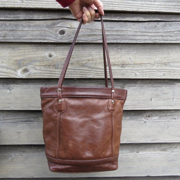 afternoon handbag challenge old brown handbag