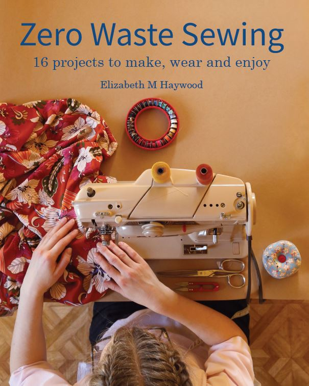 Zero Waste Sewing front cover