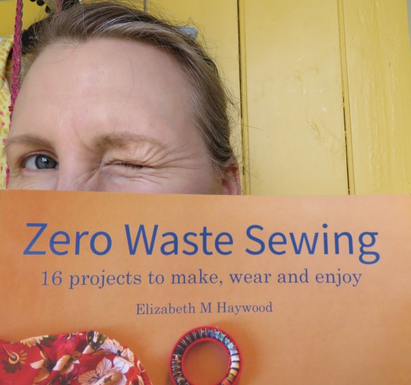 Zero waste sewing winking image