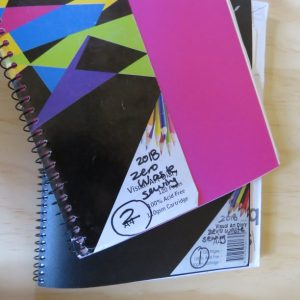 My journaling journey Zero Waste Sewing sketch book