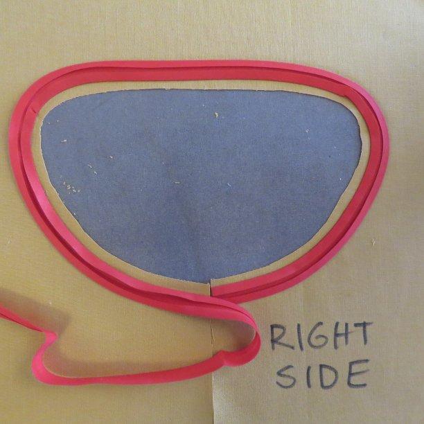 bias facings 6 curved bias binding