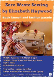 Zero waste book launch poster