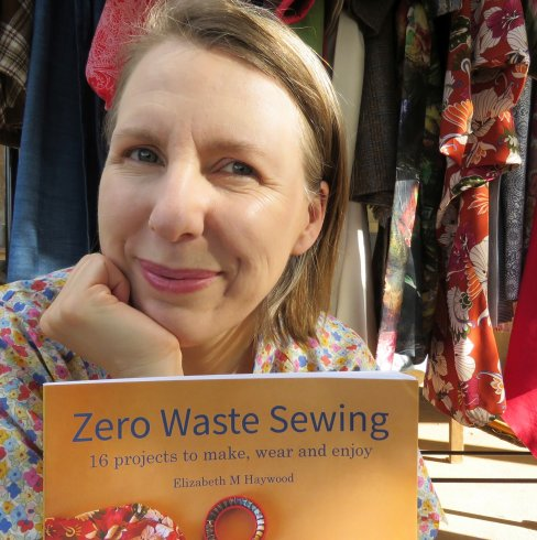 Liz with Zero Waste Sewing book