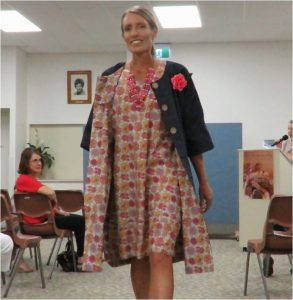 Zero Waste Sewing book launch coat and dress