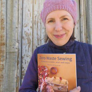 zero waste sewing book publishing day