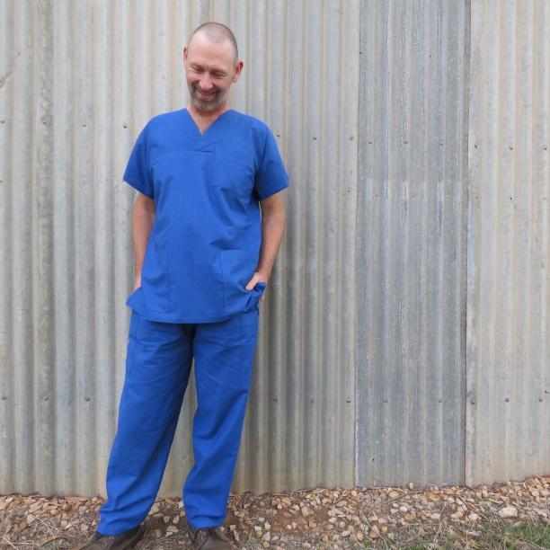 Free pattern scrubs for men