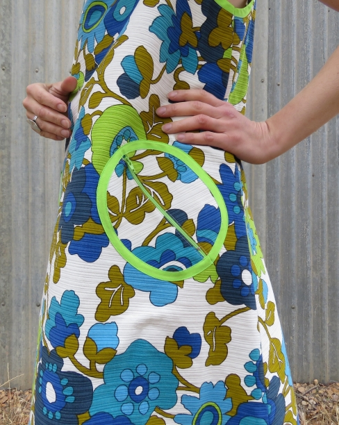 zero waste Lillypilly dress contrast pockets