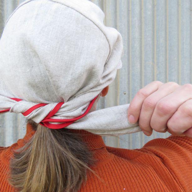 Clair hat zero waste 2 back