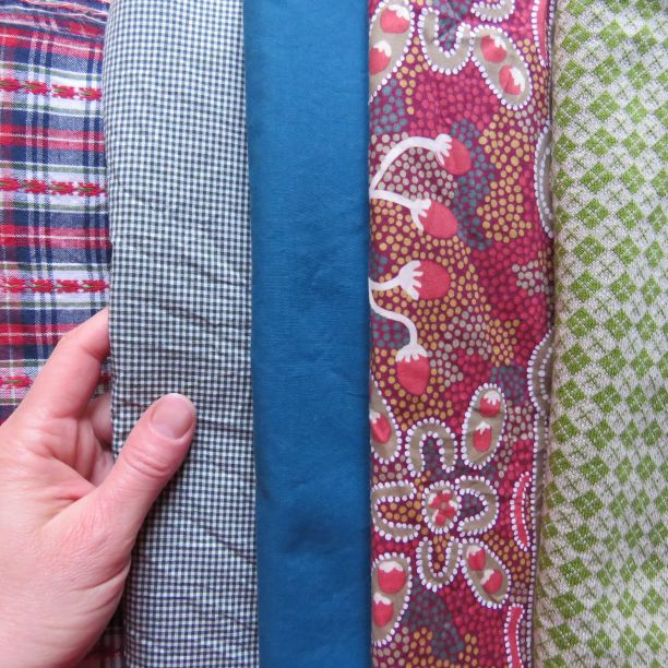 Part 2 zero waste top fabrics