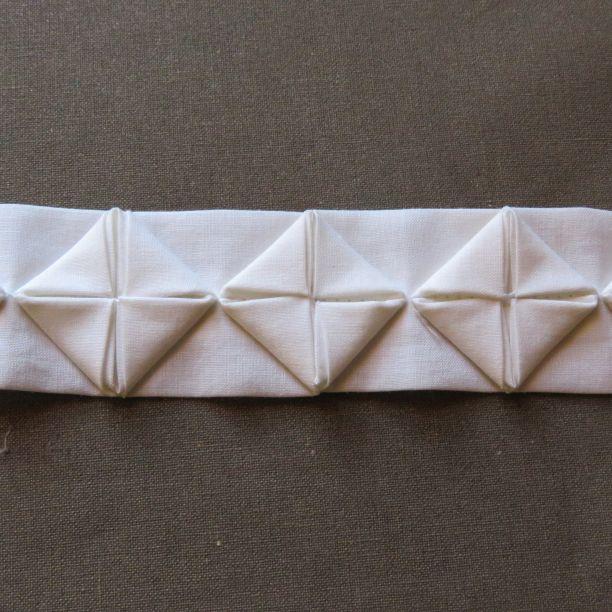 origami ribbon trim 12 finished trim