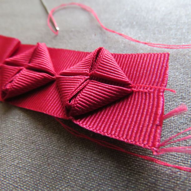 origami ribbon trim