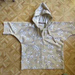 zero waste hoodie top size 10 first sample