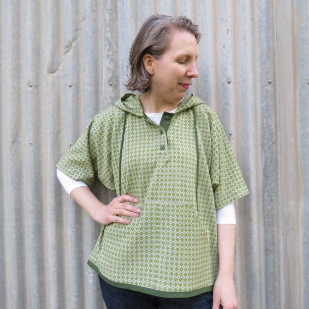 hoodie top knit fabric experiment finished top 3