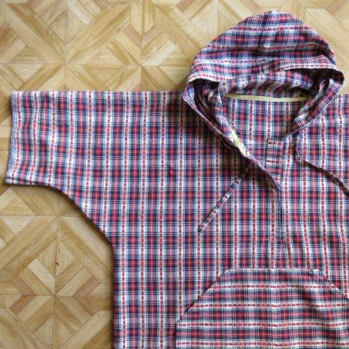 zero waste hoodie top
