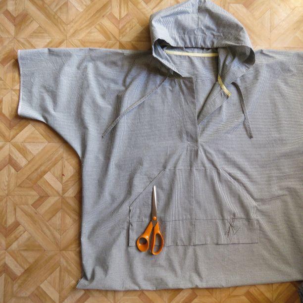 zero waste hoodie top size 22